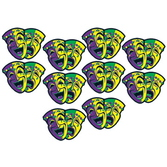 Mardi Gras Decorations Mini Mardi Gras Cutouts Image