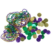 Mardi Gras Party Kits Mardi Gras Loot Kit for 50 Image