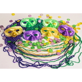 Mardi Gras Party Kits Bourbon Street Party Kit for 10 Image