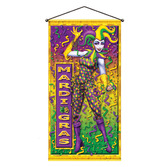 Mardi Gras Decorations Mardi Gras Door / Wall Panel Image