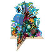 Luau Decorations 3D Coral Reef Centerpiece Image