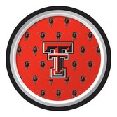 Sports Table Accessories Texas Tech Lunch Plates Image