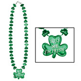 "St. Patrick's Day Party Wear ""Kiss Me, I'm Irish"" Necklace Image"