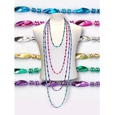 Cinco de Mayo Party Wear Assorted Color Swirl Necklaces Image