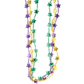 Mardi Gras Party Wear Mardi Gras Star Necklaces Image