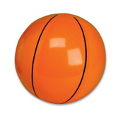 Sports Favors & Prizes 9 Inch Basketball Inflates Image