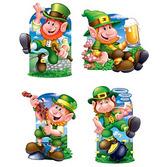 St. Patrick's Day Decorations Leprechaun Cutouts  Image