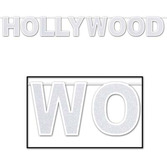 Awards Night & Hollywood Decorations Hollywood Glittered Streamer Image