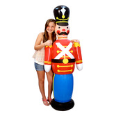 Christmas Decorations Jumbo Toy Soldier Inflate Image