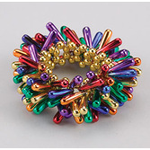 Fiesta Party Wear Rainbow Teardrop Bracelet Image