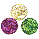 Mardi Gras Favors & Prizes Mardi Gras Coins Image