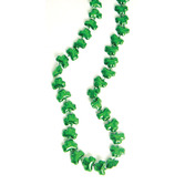 St. Patrick's Day Party Wear Shamrock Bead Necklaces Image