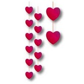 Valentine's Day Decorations Heart Stringer Image