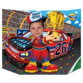 Sports Decorations Race Car Driver Photo Prop Image