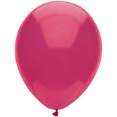 "Birthday Party Balloons 11"" Magenta Balloons Image"
