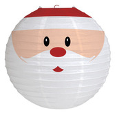 Christmas Decorations Santa Lantern Image