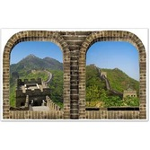 International Decorations Great Wall of China Backdrop Image