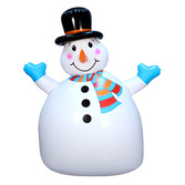 Christmas Decorations Jumbo Snowman Inflate Image