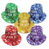 New Years Hats & Headwear Gem Star Hi Hats Image