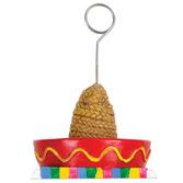 Cinco de Mayo Decorations Sombrero Photo and Balloon Holder Image