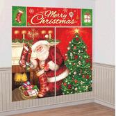 Christmas Decorations Magical Christmas Backdrop Image