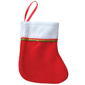 Christmas Favors & Prizes Mini Felt Stockings Image