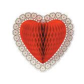 Valentine's Day Decorations Tissue Heart Decoration Image
