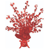 Valentine's Day Decorations Red Starburst Centerpiece Image