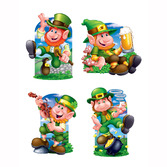 St. Patrick's Day Decorations Leprechaun Cutouts  Image