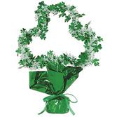 St. Patrick's Day Decorations Shamrock Shape Centerpiece Image