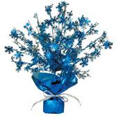 Christmas Decorations Metallic Snowflake Burst Centerpiece Image