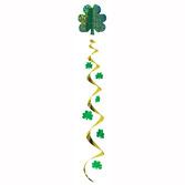 St. Patrick's Day Decorations Jumbo Shamrock Whirl Image