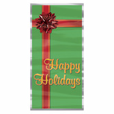 Christmas Decorations Happy Holidays Door Cover Image