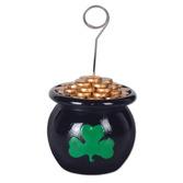St. Patrick's Day Decorations Pot o' Gold Photo Holder Image