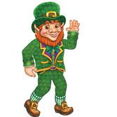 St. Patrick's Day Decorations Leprechaun Cutout Image
