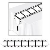 Awards Night & Hollywood Decorations Filmstrip Table Runner Image