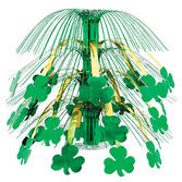 St. Patrick's Day Decorations Shamrock Cascade Centerpiece Image