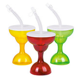 Fiesta Table Accessories Margarita Cups with Straw Image