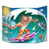 Luau Decorations Surfer Dude Photo Prop Image