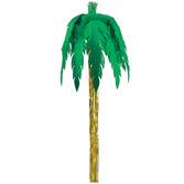 Luau Decorations Giant Metallic Royal Palm Tree Image