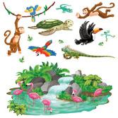 Luau Decorations Tropical Props Image