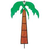 Luau Decorations Palm Tree Wind-Wheel Image