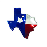 Decorations Texas Tin Ornament Image