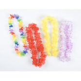Luau Party Wear Assorted Silk Leis Image