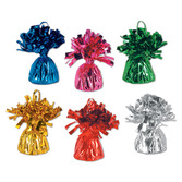 New Years Balloons Assorted Color Metallic Balloon Weights Image