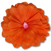 Cinco de Mayo Decorations Rachel's Orange Flower Image