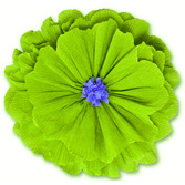 Cinco de Mayo Decorations Rachel's Lime Green Flower Image