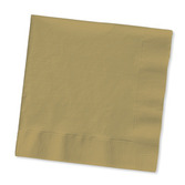 Anniversary Table Accessories Metallic Gold Luncheon Napkins Image
