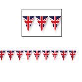 International Decorations Union Jack Pennant Banner Image