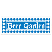 Oktoberfest Decorations Beer Garden Sign Banner Image